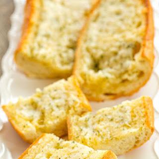 Cheesy Homemade Garlic Bread