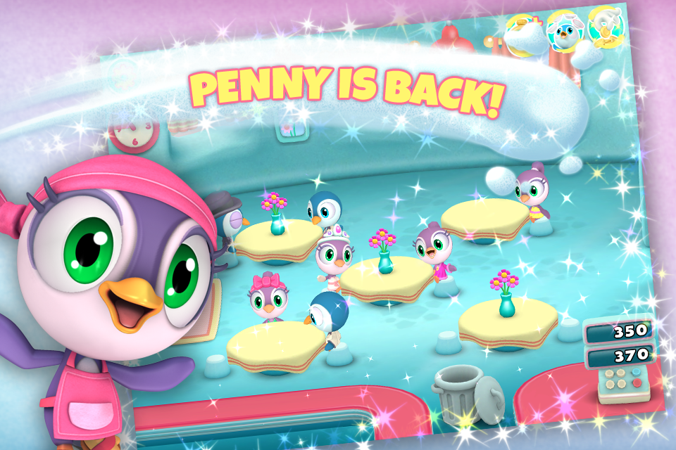 Penguin Diner 3D- screenshot