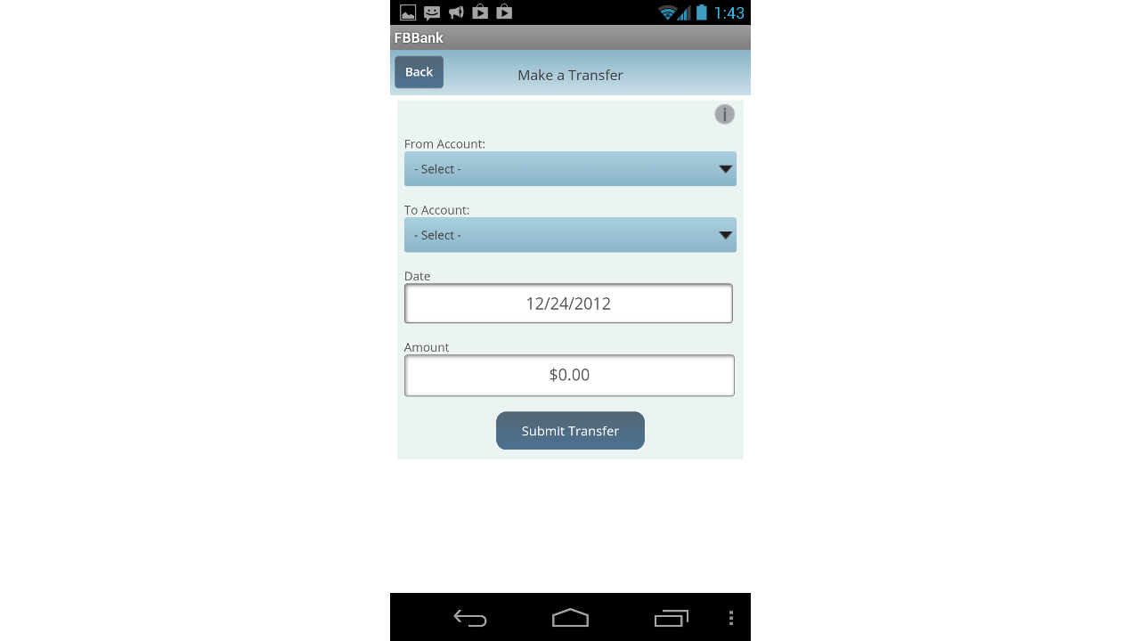 Farm Bureau Bank –  FBBmobile - screenshot