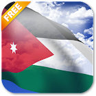 3D Jordan Flag Live Wallpaper icon