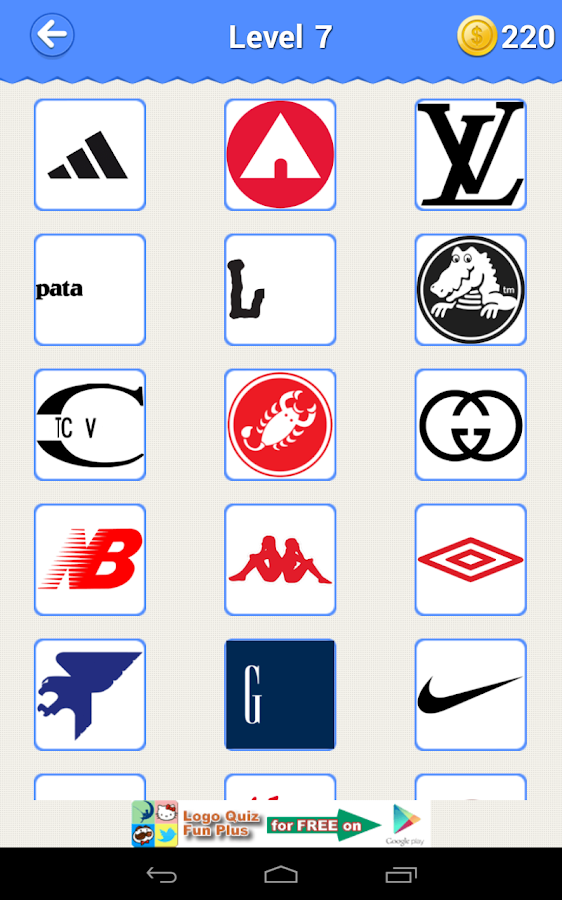 Logo Quiz 2 Clothing And Apparel Logos Level 4 Images & Pictures ...