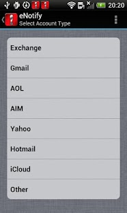 eNotify E-mail Alert IMAP POP3 - screenshot thumbnail
