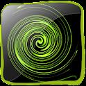 Whirlpool Effect 3D logo