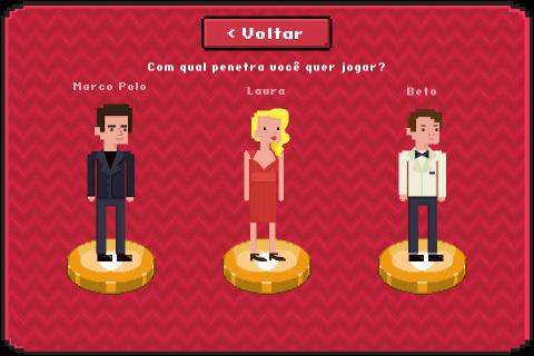 Os Penetras - O Jogo - screenshot