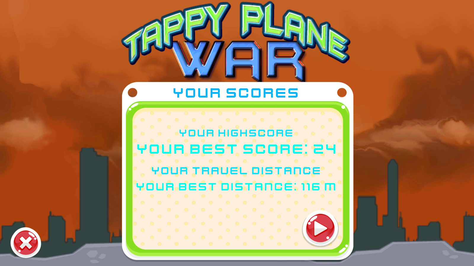 Tappy Plane War- screenshot