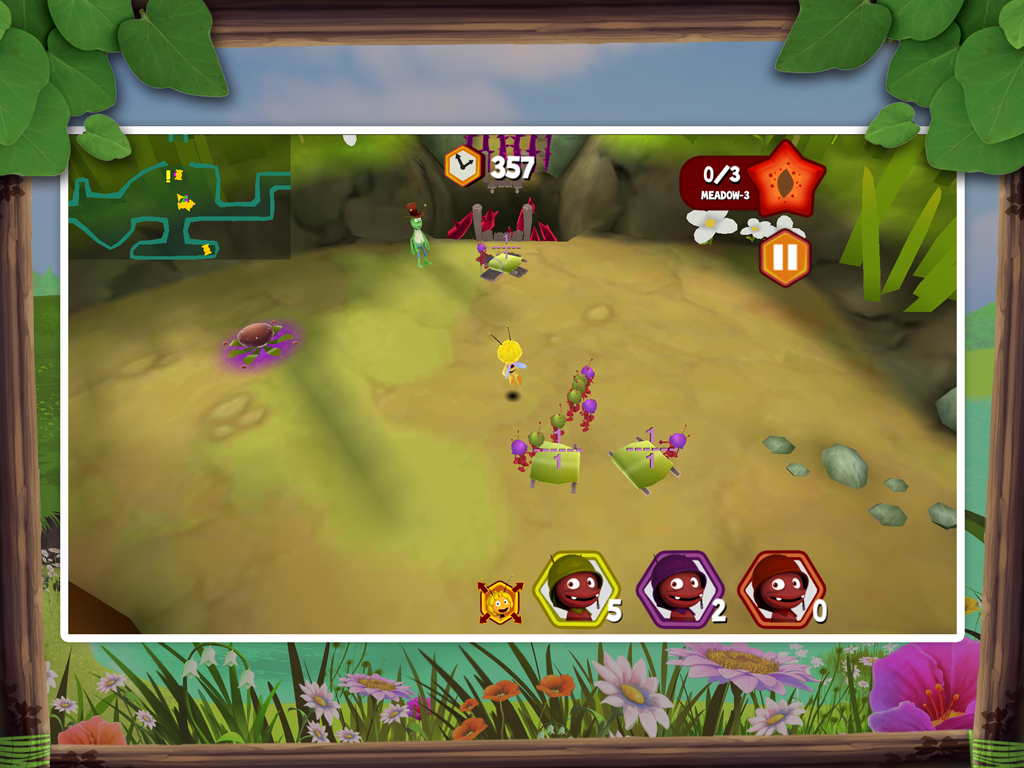 Maya the bee: The Ant's Quest - screenshot