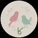 The story of bird_ATOM spring icon
