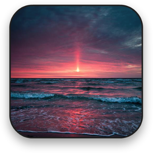 沙灘動畫壁紙 個人化 LOGO-阿達玩APP