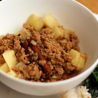 Ground Lamb with Potatoes.