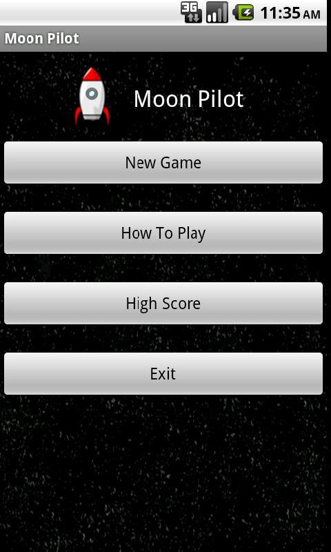 Moon Pilot Lite- screenshot