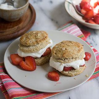 Oat Brown Sugar Strawberry Shortcake