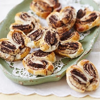 Chocolate Palmiers.