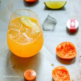 Mandarin Vodka Spritzer.