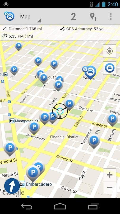 Car Finder AR DEMO - screenshot