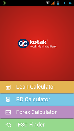 Kotak Financial Calculator