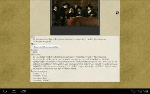 Rijksquiz voor tablets- screenshot thumbnail