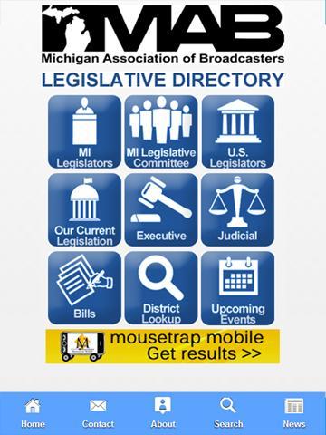 MAB MIchigan Legislative App