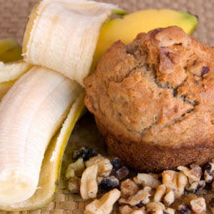 Tuesday Morning Banana Muffins