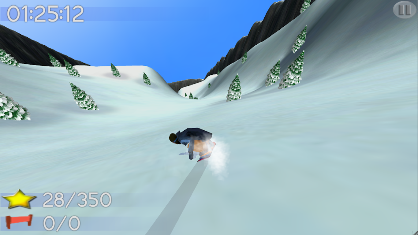 Big Mountain Snowboarding - screenshot
