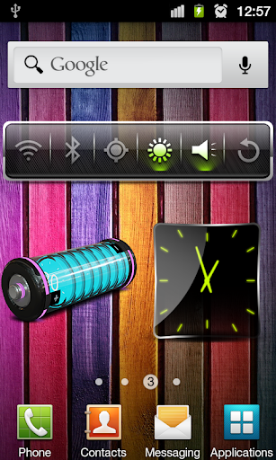 تحميل Design Battery Widget v1.0
