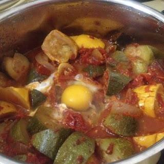 Easy Zucchini Summer Stew.