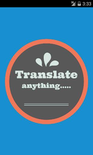 Hindi English Translator