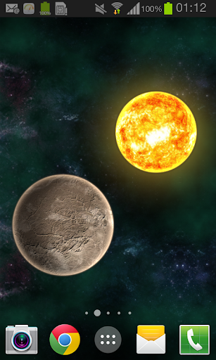 Planets in universe LWP key