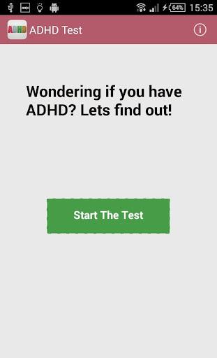 ADD ADHD Test