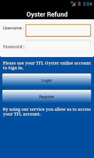 London Oyster Balance Refund