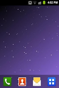 Starfield Live Wallpaper LITE- screenshot thumbnail