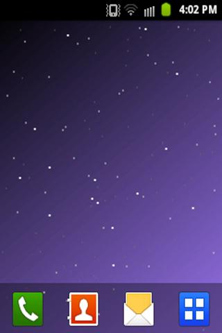 Starfield Live Wallpaper LITE - screenshot