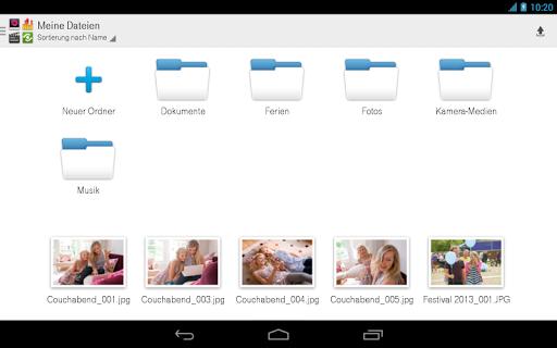 【免費工具App】Mediencenter - Telekom Cloud-APP點子