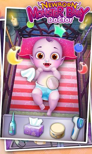 玩免費休閒APP|下載怪物新生婴儿医生 - 新生婴儿 app不用錢|硬是要APP