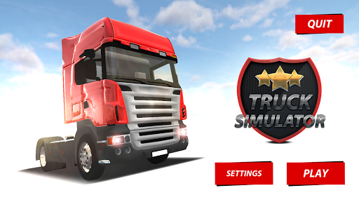 卡車停車場模擬器3D