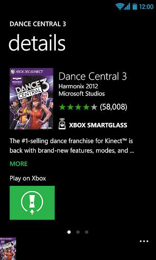 Xbox 360 SmartGlass 1.85 screenshots 2