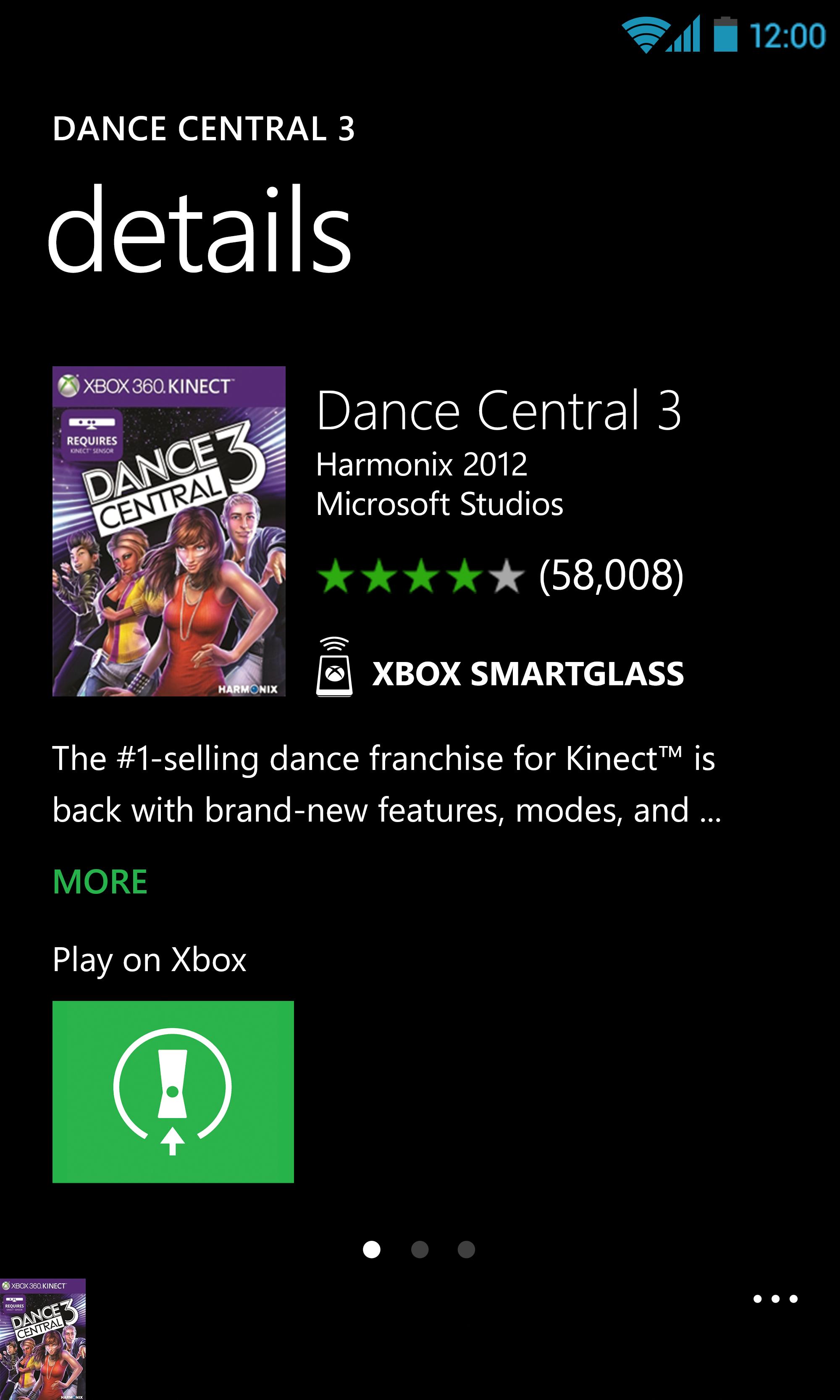 Xbox 360 SmartGlass screenshot #2