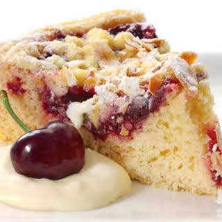 Cherry Almond Coffee Cake.
