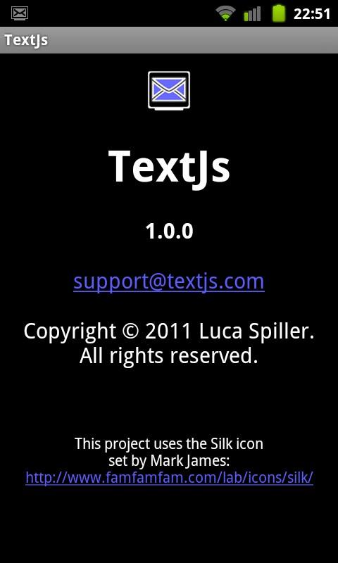 TextJs - SMS From Your Browser- screenshot