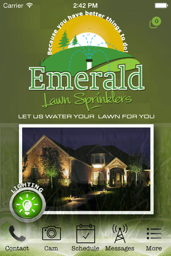 Emerald Lawn Sprinklers- screenshot