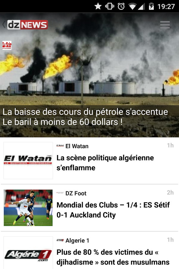 dz NEWS Algerie- screenshot
