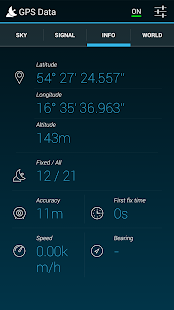 GPS Data - screenshot thumbnail