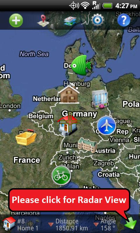 GPS Finder - Car Locator Free - screenshot