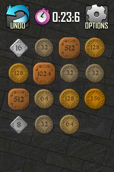 2048 Coins - screenshot