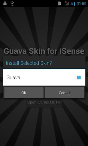 Guava Skin for iSense Music