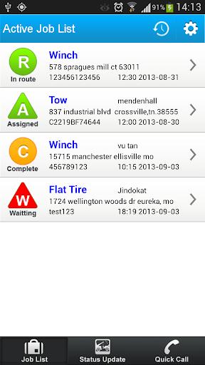 【免費生產應用App】Tow Dispatch Manager-APP點子