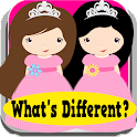 Princess Game Whats Different icon