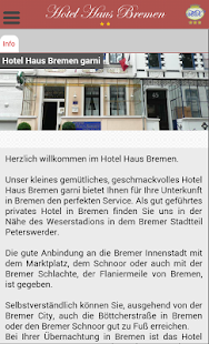 Hotel Haus Bremen- screenshot thumbnail