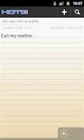 Screenshot of Kote - Notepad