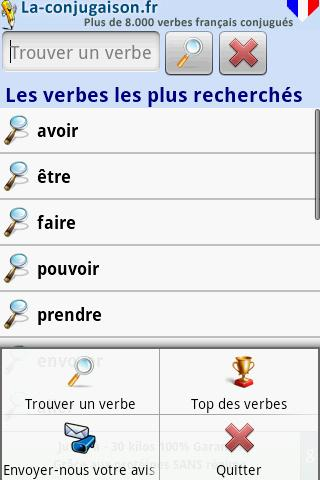 La Conjugaison - screenshot