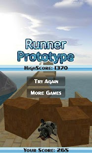 Runner Prototype - screenshot thumbnail